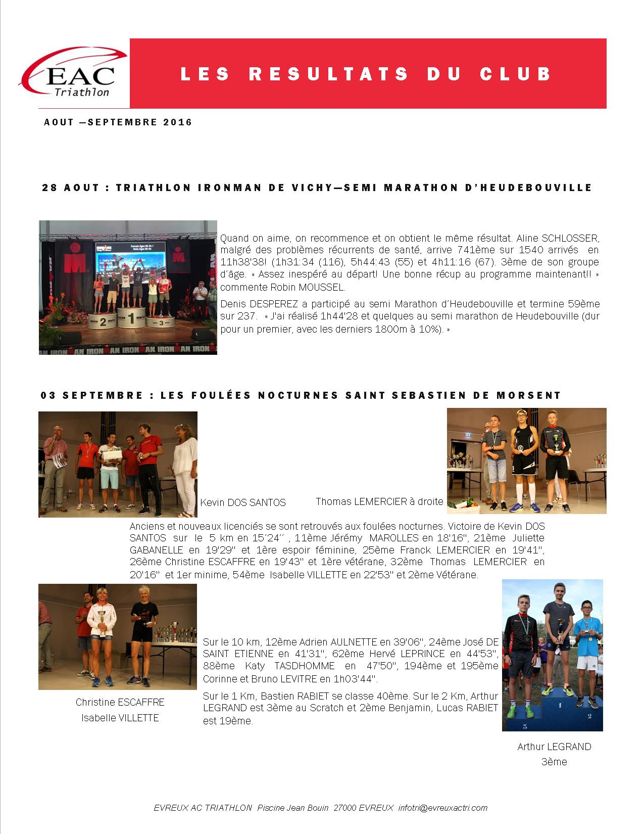 Bienvenue sur le site eac triathlon raid for Piscine jean bouin evreux