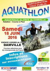 Affiche aquathlon site