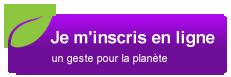 Btn inscription eco violet