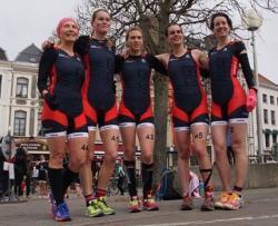 Equipe filles duathlon 2015