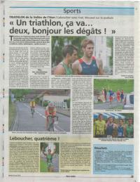 Eure infos article triathlon