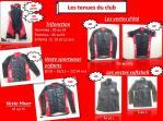 Les tenues du club