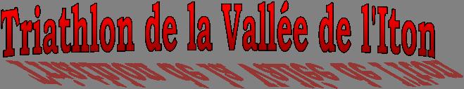 Triathlon vallee iton