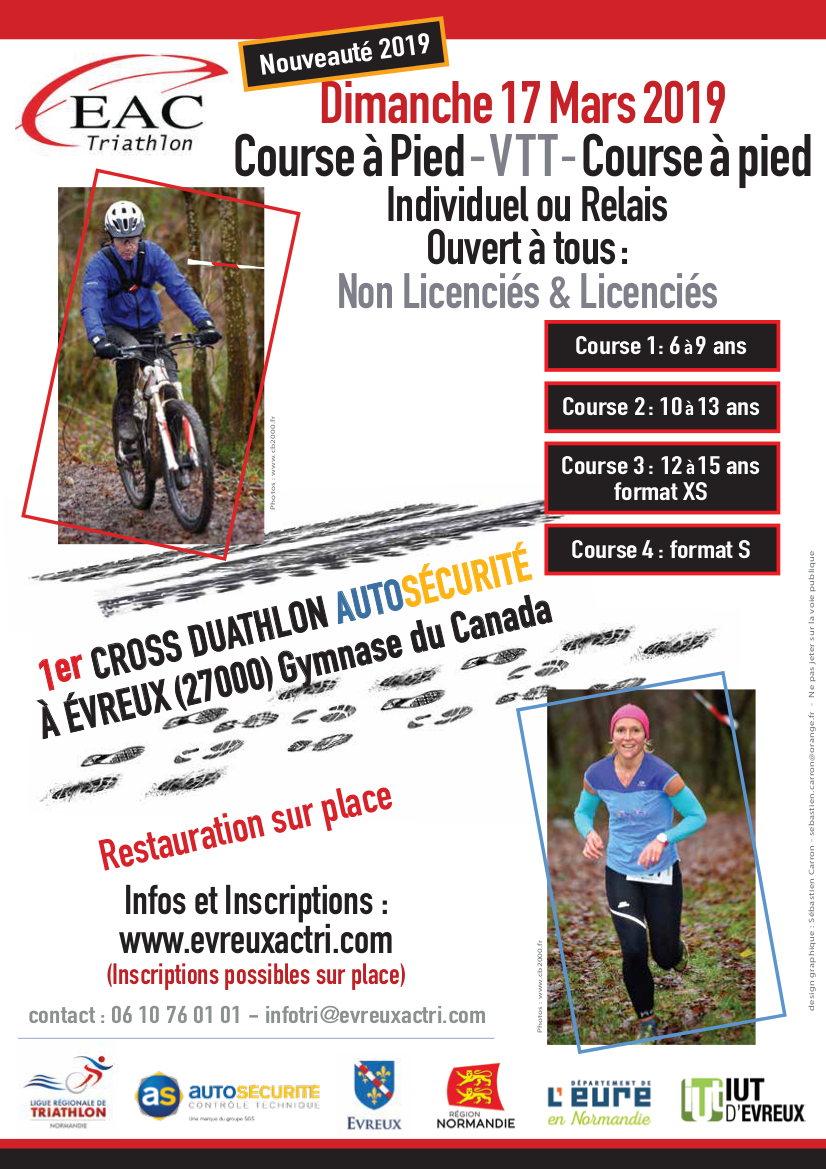 Affiche cross duathlon