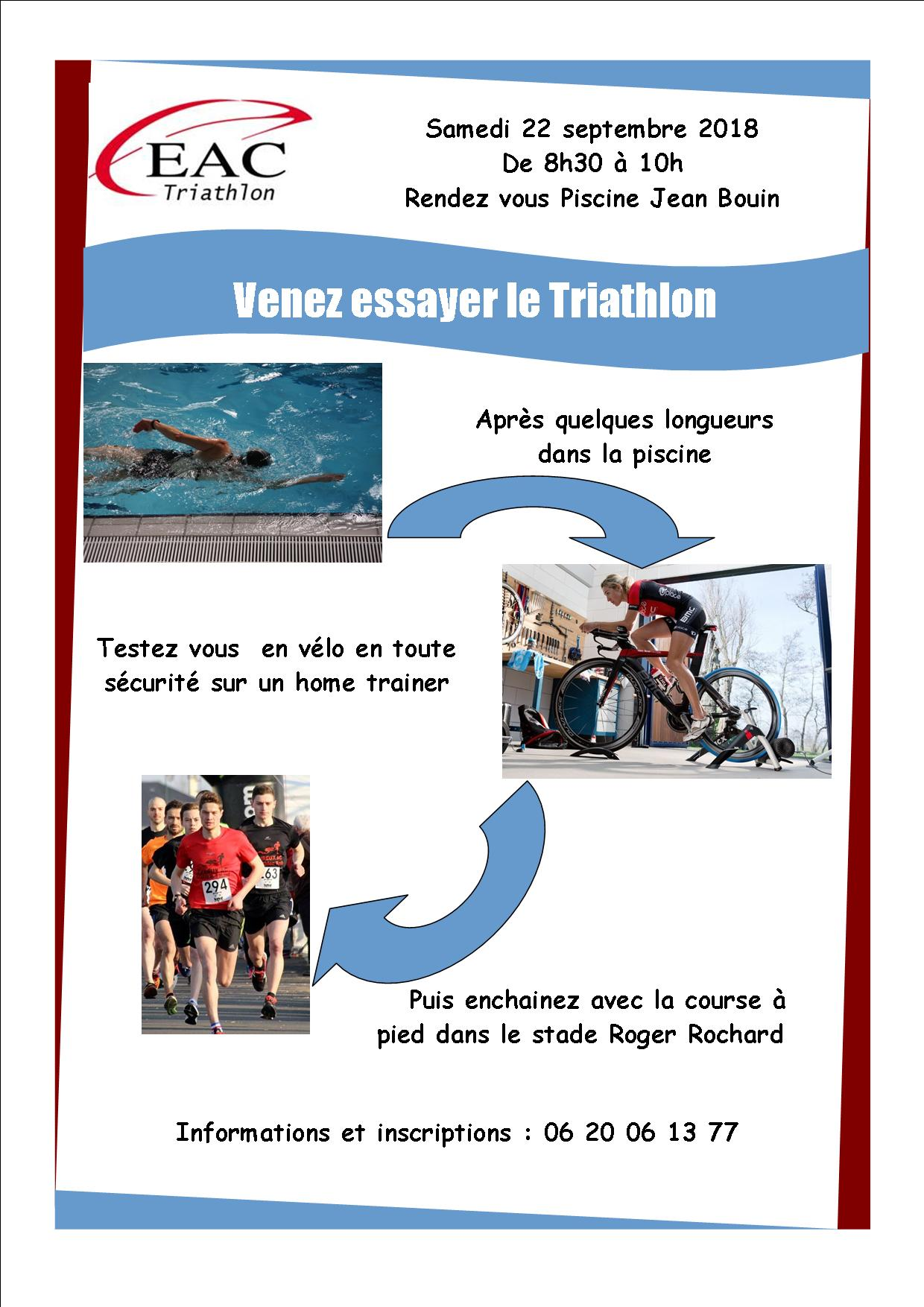 Testez le triathlon